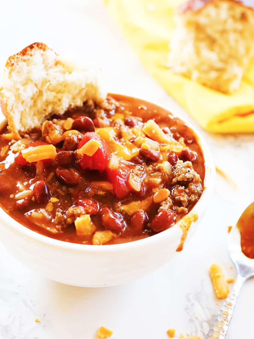 5 Ingredient Chili To Simplify Dinner Tonight Pip And Ebby